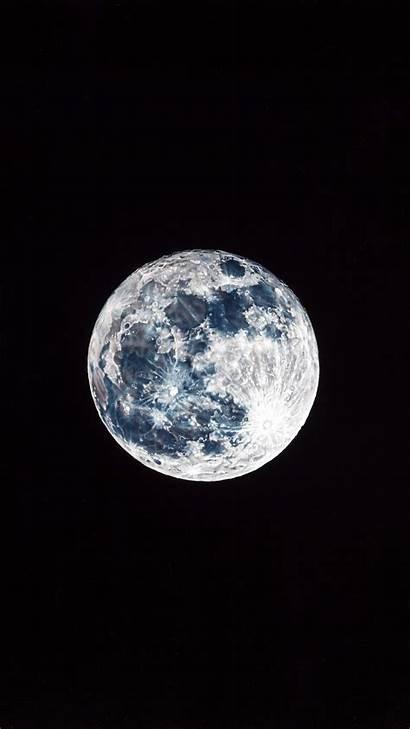 Moon Iphone Dark Space Sky Nature Damian