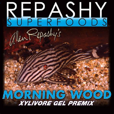 Repashy Releases Morning Wood Relax Pleco Food