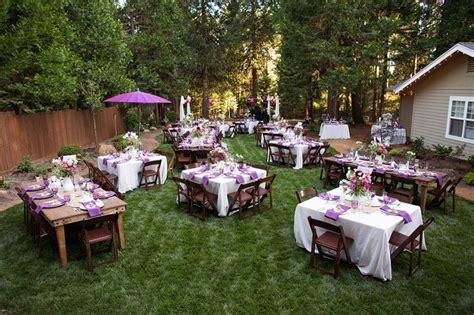 beautiful backyard weddings backyard wedding