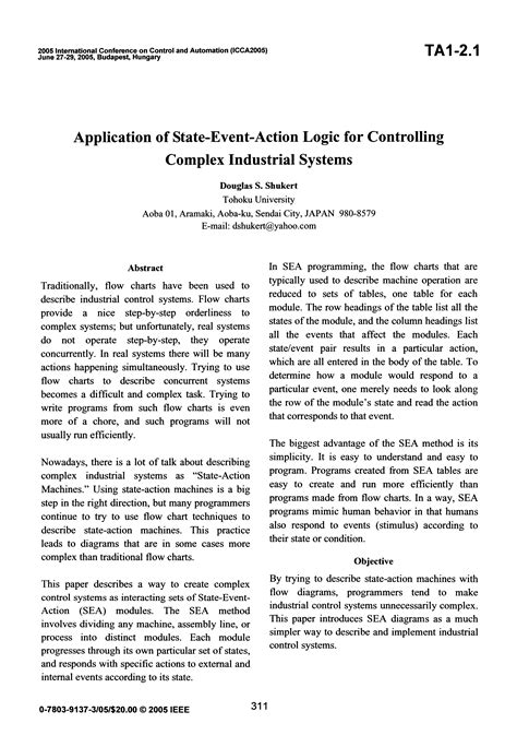 State/event-based software specification & analysis