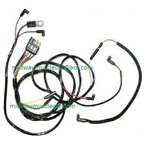 65 Mustang Wiring Harnes by 65 Ford Mustang V8 Engine Feed Wiring Harness 1965