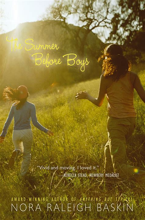 The Summer Before Boys  Book By Nora Raleigh Baskin  Official Publisher Page  Simon & Schuster