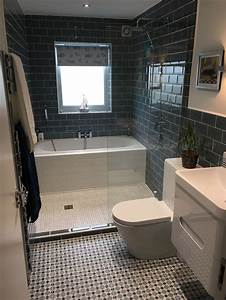 Small bathroom ideas with bath and shower clever hauzzz for Best toilets for small bathrooms