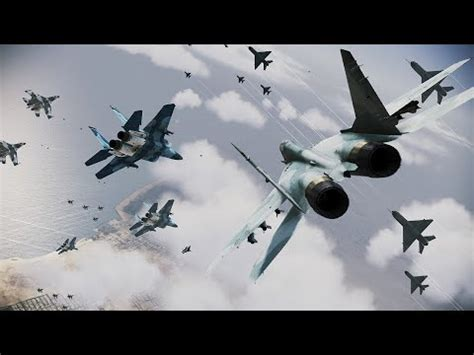 Ace Combat Infinity Emergency Air Strike Special Raid Mission (rank S) Youtube