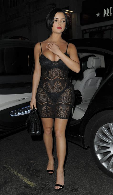 Demi Rose Mawby At Sixty Magazine Launch Party In London Hawtcelebs Hawtcelebs