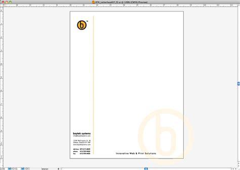 letterhead template design  microsoft word part