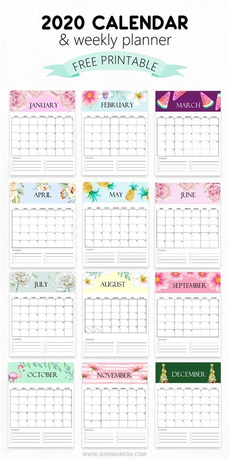 small printable  yearly calendar   printable