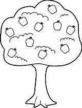 Coloring Tree Apple Pages Printable Appleseed Johnny Fruit Drawing Sheets Line Colouring Vegetables Crafts Hill Preschool Naomi Ruth Worksheets Fun sketch template