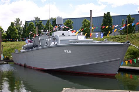 What Is A Pt Boat by Pt658 History Page