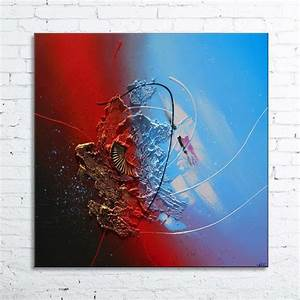 Tableau En Relief : tableau abstrait moderne l 39 acrylique peinture en relief ~ Melissatoandfro.com Idées de Décoration