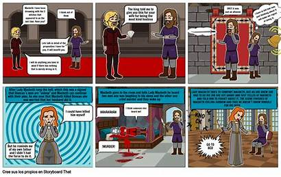 Macbeth Act Scene Storyboard