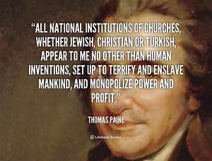 Thomas Paine Quotes. QuotesGram