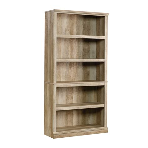Sauder Bookcase by Sauder 420174 5 Shelf Bookcase 5 Lintel Oak 691161669160