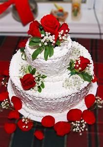 Cokelat Dan Merah Cantik Dengan Dapur Cake Cake Cantik Untuk Tahun Baru Dan Mery Christmast