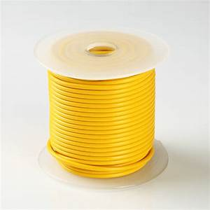 100ft Yellow High Performance Primary Wire 14 Gauge Awg