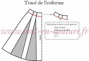 patron gratuit jupe longue evasee With patron robe évasée gratuit