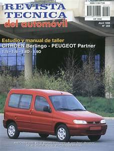 Manual De Taller Y Mecanica Citroen Berlingo  Peugeot Partner Desde 1996 Rt59