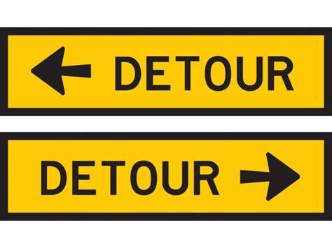 Detour (L or R)