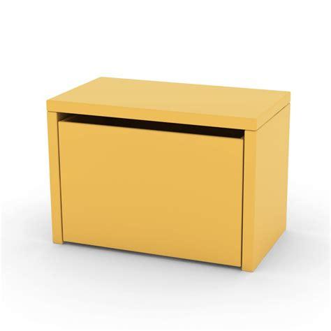 coffre de rangement a pour bebe chevet coffre de rangement jaune or flexa play pour chambre enfant les enfants du design