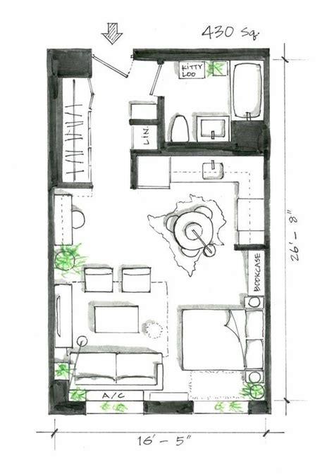smart studio apartment layouts  work wonders