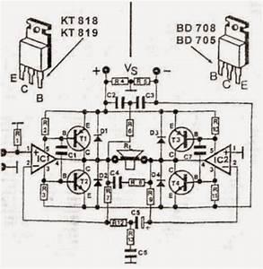 200w Transistor Audio Amplifier Circuit