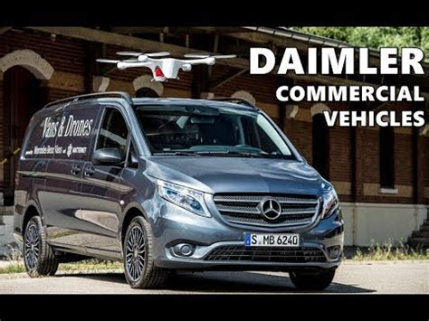 mercedes benz commercial vehicles lineup youtube