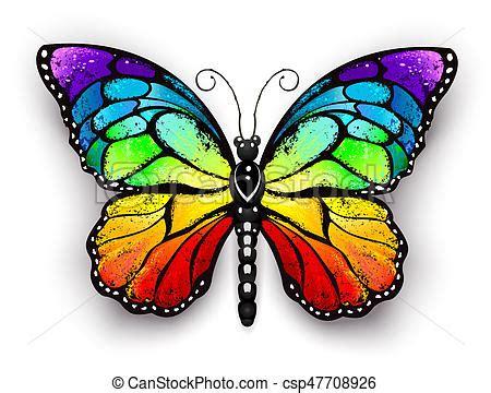 clipart farfalla farfalla arcobaleno monarca farfalla arcobaleno tutto