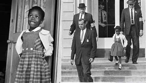 quick black history lessons ruby bridges broke racial