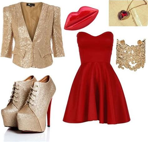 Polyvore Casual New Year Party Outfits For Girls 2013 2014