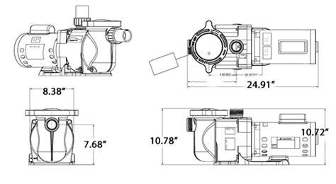 Superflo And Motor Wiring Diagram by Pentair Superflo 1 Hp Single Speed 340038