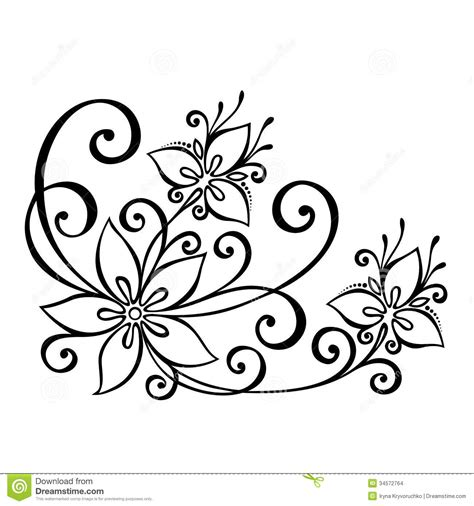 decorative flower and leaf designs photos how to draw pretty designs drawing art gallery