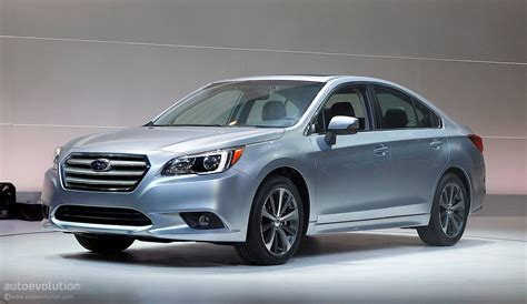 All-new 2015 Subaru Legacy Officially Revealed In Chicago