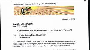 deped quezon province 2016 ranking of teacher applicants With doe applicant tracking system