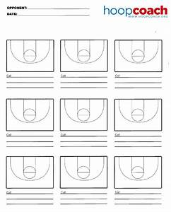 Nine Court Basketball Court Diagram