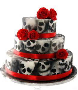 skull wedding cakes top 7 amazing airbrushed cakes trend alert