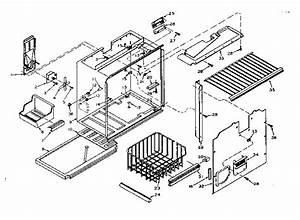 Kenmore Coldspot Model 106 Refrigerator Parts  U2022 Wiring And