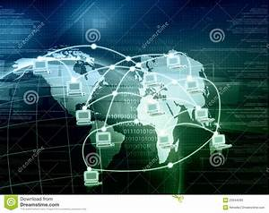 Worldwide Computer Network Stock Photos