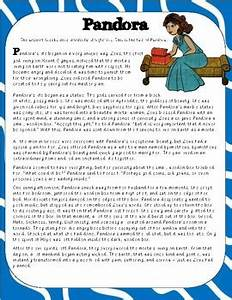 pandora and the box story