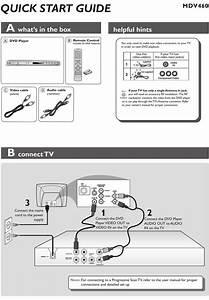 Magnavox Mdv460 Quick Start Manual Pdf Download