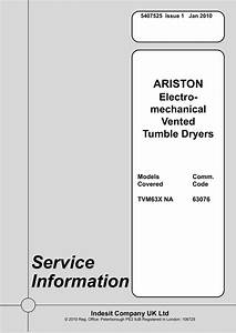 Ariston Tvm63x Na Service Manual
