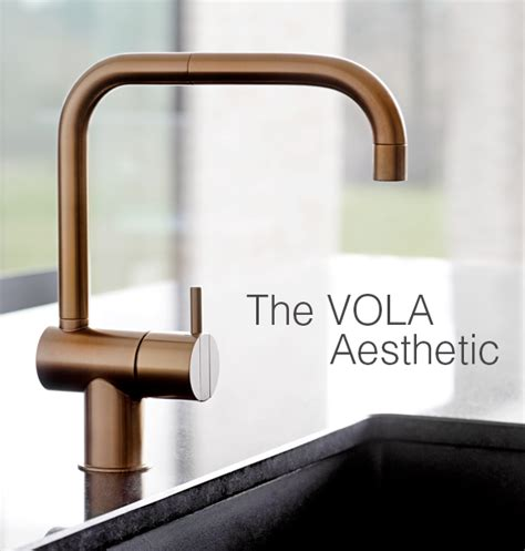 Vola Robinet by The Vola Aesthetic Vola Taps Kitchens And