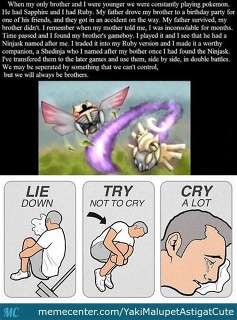 Try Not To Cry Meme - lie down try not to cry cry a lot by yakimalupetastigatcute meme center