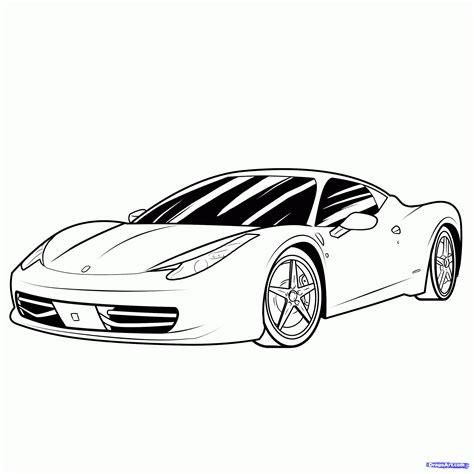 draw  sports car step  step cars draw cars