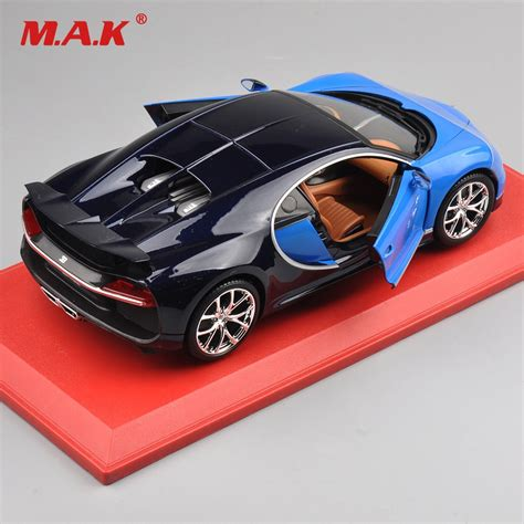 This model was one of the first cars to introduce the concept of aerodynamics to motorsports. Kids Christmas Gift Car Model Toys 1:18 Bugatti Chiron ...