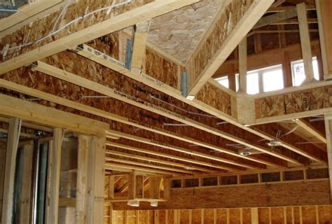 floor joist size residential notching or cutting holes in engineered floor joists