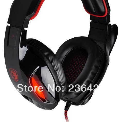 headset sades 902 sades sa 902 7 1 surround sound effect usb gaming headset