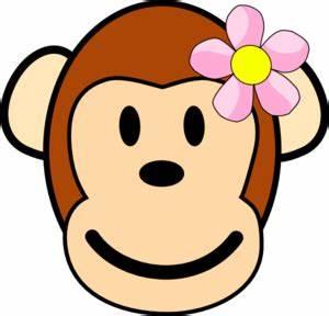 Girl Monkey Clip Art At Vector Clip Art Online
