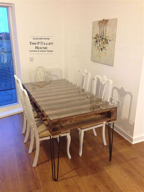 table cuisine palette and stylish pallet dining table ideas