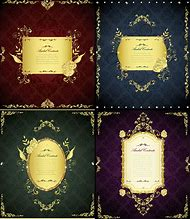 Gold Lace Border Vector