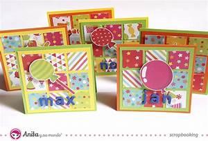 Scrapbooking para niños: crea tu tarjeta